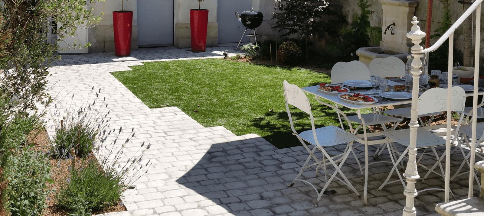 Lantana Paysage Amenagement Paysager Allee Jardin