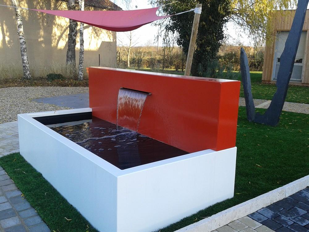 Construction et aménagement de bassins de jardin - Lantana Paysage