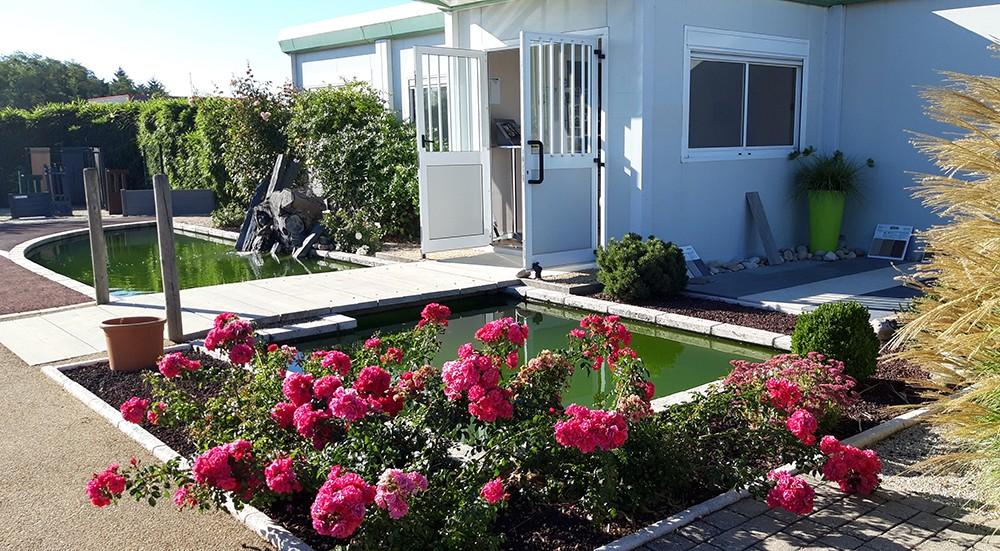 Aménagement jardin aquatique - Lantana Paysage