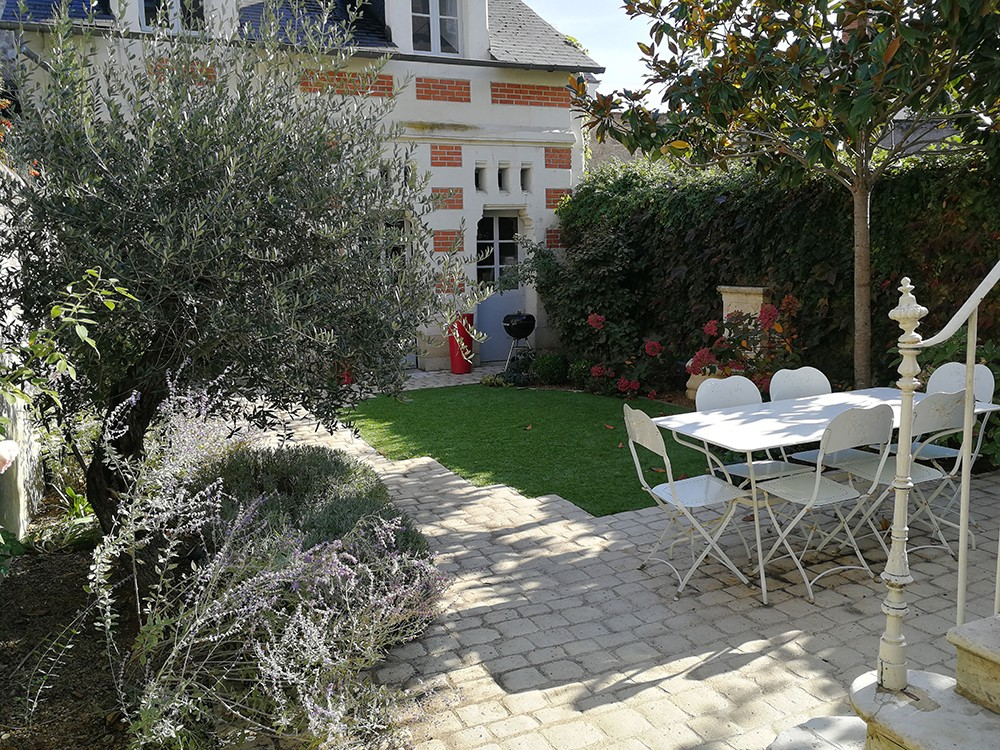 Aménagement petit jardin de ville, jardin urbain - Lantana Paysage