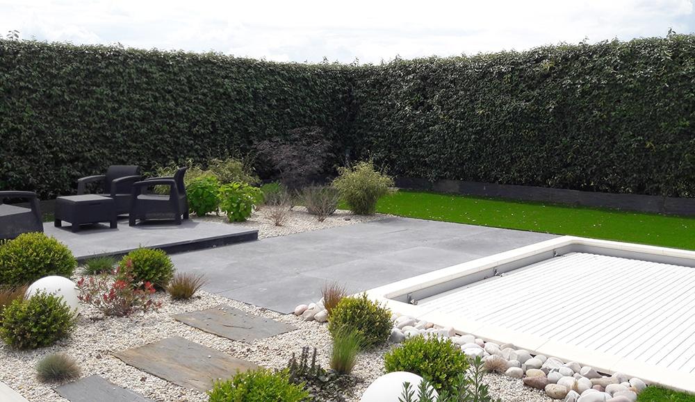 Aménagement d\'un jardin contemporain - Lantana Paysage