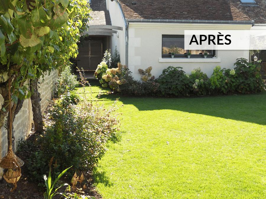 Aménagement de jardin AVANT / APRÈS - Lantana Paysage