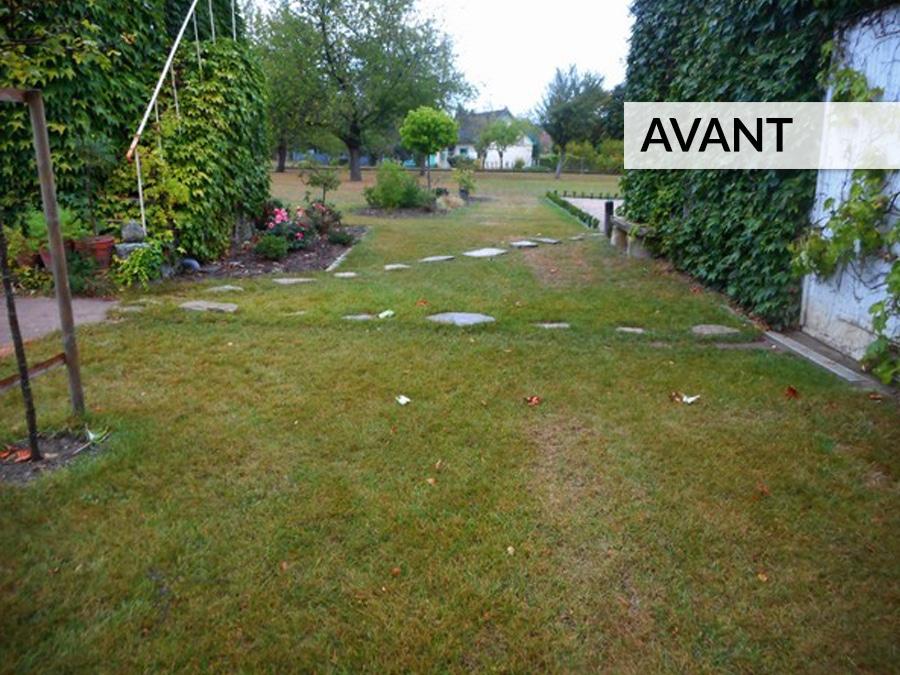Aménagement jardin et terrasse AVANT / APRÈS - Lantana Paysage