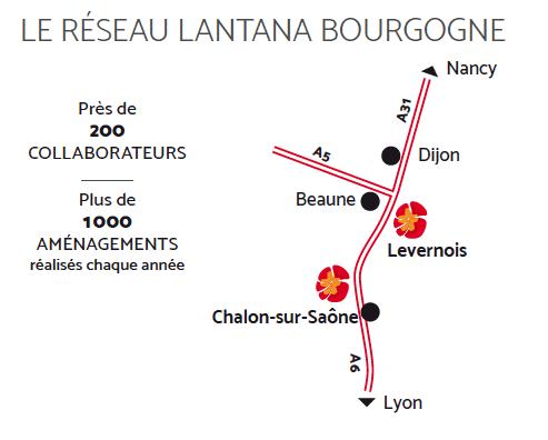 le réseau Lantana Bourgogne